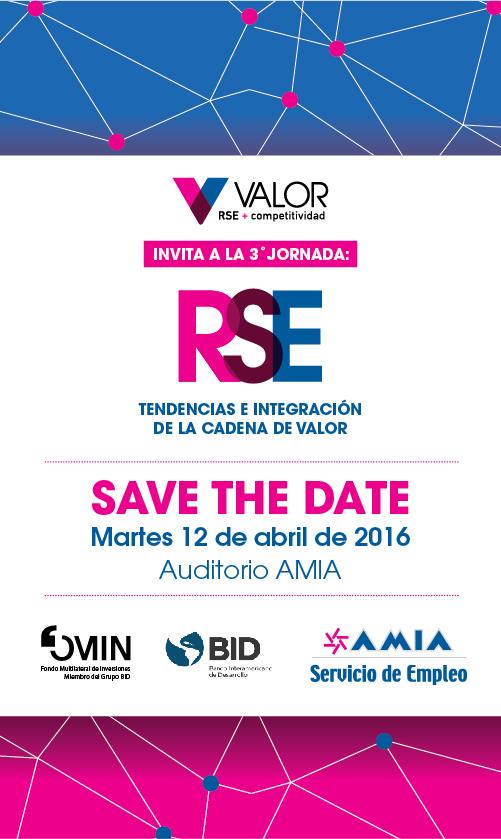Save the date_Jornada rse_Valor_2016-01