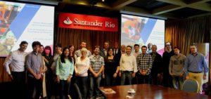 Mesa con proveedores de Santander Río - 1