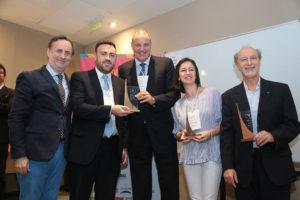 Fernando Passarelli, Ignacio Sabino, Guillermo von Bergen (Henkel), Lina Niño y Ernesto Tocker