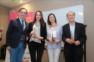 Fernando Passarelli, María Constanza Ferrer (Telecom), Lina Niño y Ernesto Tocker